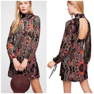 NWT Free People All Dolled Up Mini Dress XL